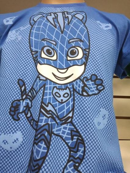 Kit. 3 Camisetas Infantis Varias Estampas Super-heróis