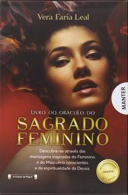 Livro Do Oráculo Do Sagrado Feminino Com 56 Cartas De Oferta