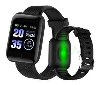 Smartwatch Relógio Preto D13 Top Android / Ios Envio Rápido