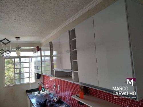 Apartamento Com 2 Dormitórios À Venda, 45 M² Por R$ 99.000,00 - Jardim América - Marília/sp - Ap0318