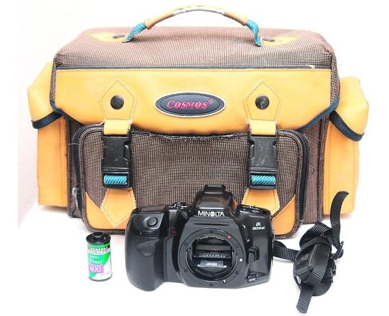 Minolta 303si + Filme + Bolsa = Canon Sony Nikon Alpha Sigma