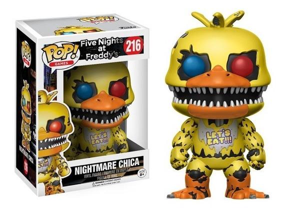 Funko Pop Nightmare Chica (216) Five Nights At Freddy