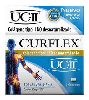 Curflex Colageno Tipo Ii No Desnaturalizado Artrosis X 30