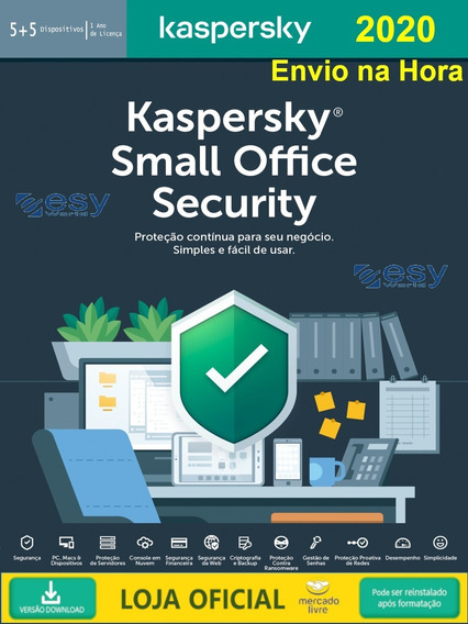 Kaspersky Small Office Security 5+1 Servidor 2019