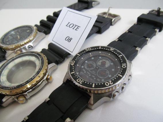Citizen Lote Nº 08 Relógios Sucatas - Liquidação De Janeiro