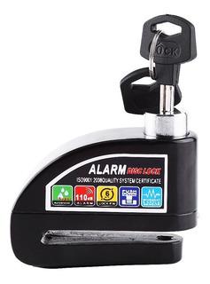 Candado Disco Alarma Moto Accesorio De Seguridad