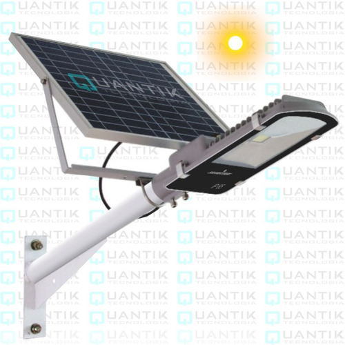 Kit Reflector Led 30watts, Con Panel Solar+sensor Dia/noche