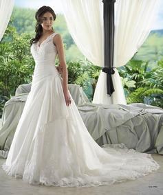 Vestido De Noiva - Off-white - 40 - Pronta Entrega - Vn00125