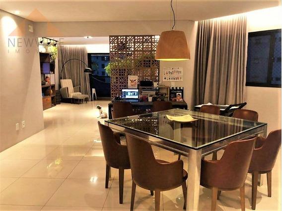 Apartamento Com 4 Quartos (1 Suíte) 176 M² Por R$ 900.000 - Boa Viagem - Recife/pe - Ap2235
