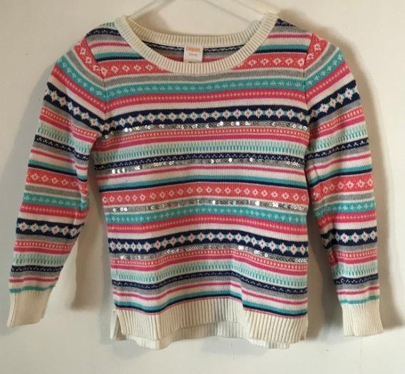 Sueter Sweater Para Niña Gymboree Talla S 5-6
