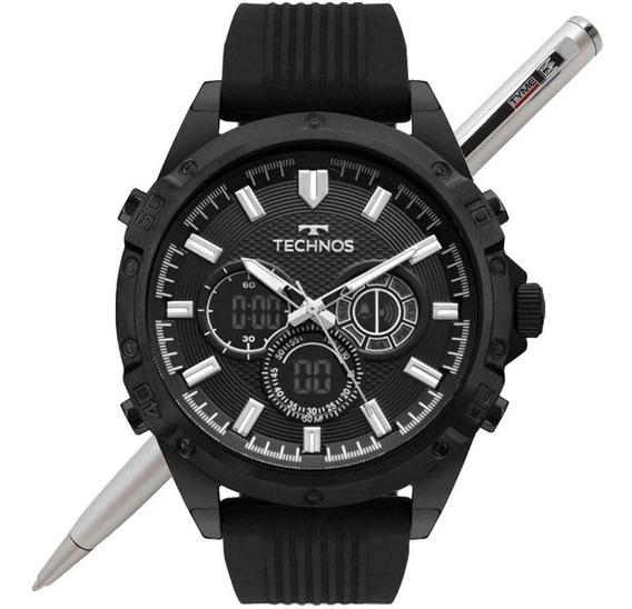Relógio Technos Ts Digiana Masculino Bj3814ac/8p Preto - Nfe