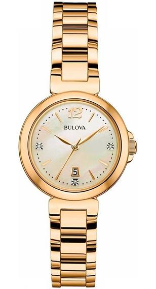 Relógio Bulova Feminino Diamond Wb27930h