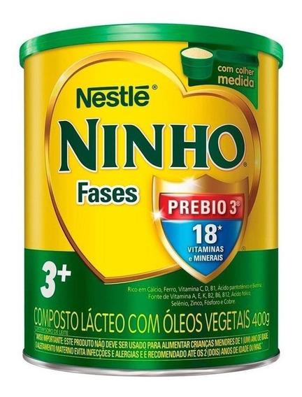 Fórmula infantil em pó Nestlé Ninho Fases 3+ em lata de 400g