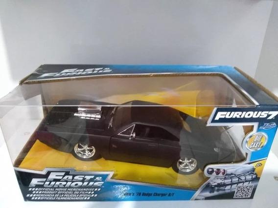 Dodge Charger Rt Velozes E Foriozos 1/24 Jada Toys