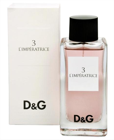 Perfume Perfumes L Gabbana Impératrice 3 100ml Dolce Feminino R354ALjcqS