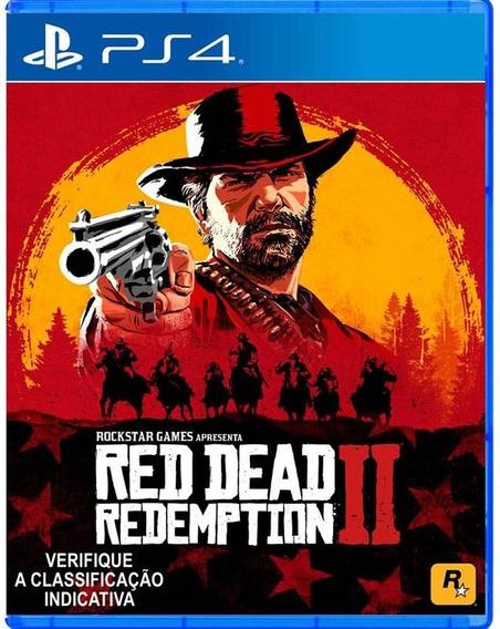 Red Dead Redemption 2 Ps4 C/ Mapa Novo Mídia Física + Pôster