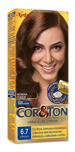Tintura Cor&ton 6.7 Chocolate