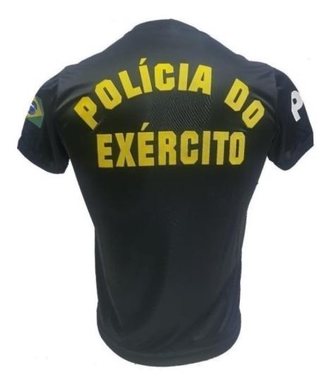 Camiseta Policia Do Exército Dry Fit Com Nota Fiscal