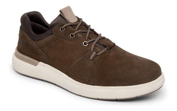 Sapato Casual Masculino Brent Brt9602 Bradok Em Couro Bovino