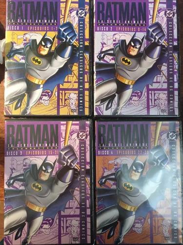 Batman La Serie Animada Volumen 3  4 Dvds Nuevo Sellado