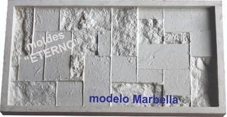 Molde Eterno Goma Flex Mode Marbella Placa Antihumedad