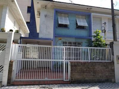 Casa Com 2 Dormitórios Para Alugar, 90 M² Por R$ 2.000/mês - Encruzilhada - Santos/sp - Ca1461
