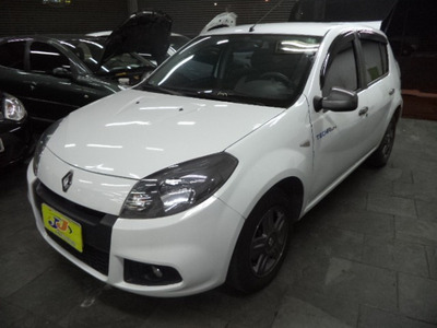 Renault Sandero 10 16v Techrun Flex Completo Multimidia 2014
