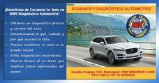Scanner Automotriz A Domicilio Profesional Multimarcas.