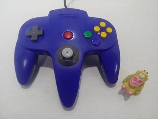 Control Azul Nintendo N64 Original Garantizado