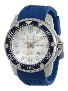 Reloj Bulova 98b208 Marine Star Automatico Agente Oficial