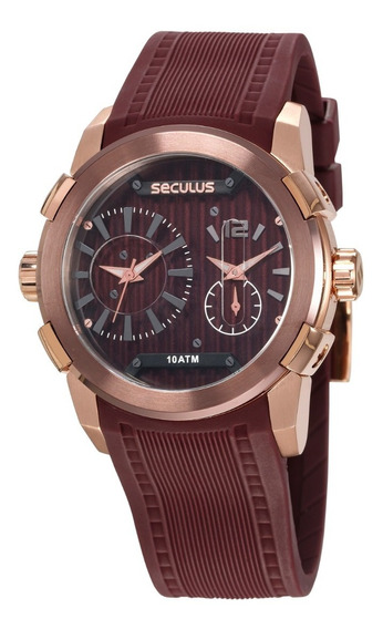 Relógio Seculus Masculino 35005gpsvxu2