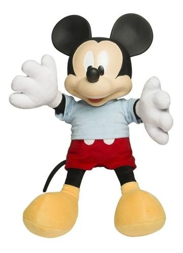 Imagem 1 de 2 de Miniatura Boneco Mickey Mouse De Pelúcia Disney Baby Brink