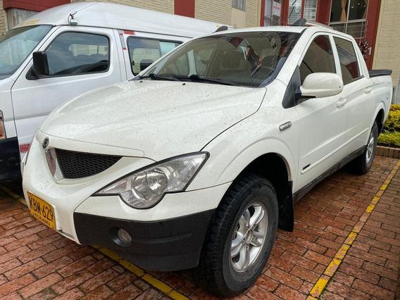 Ssangyong Actyon 4x4 Con Bajo 2.0 Turbo Diesel 2011 Bogota