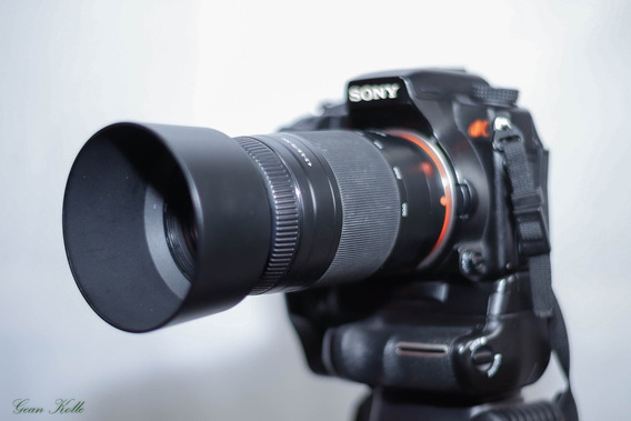 Kit Fotográfica Profissional Sony A700+ Lentes E Acessórios.