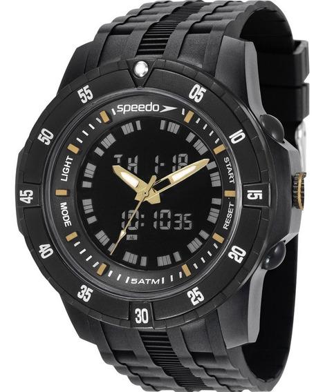 Relógio Masculino Speedo 81127g0evnp6 + Brinde= 21