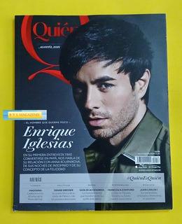 Enrique Iglesias Madonna Natasha Dupeyron Revista Quien 2018