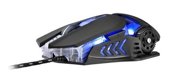 Mouse Gamer Keon Ambidestro 3200 Dpi . Mo267/8 - Warrior