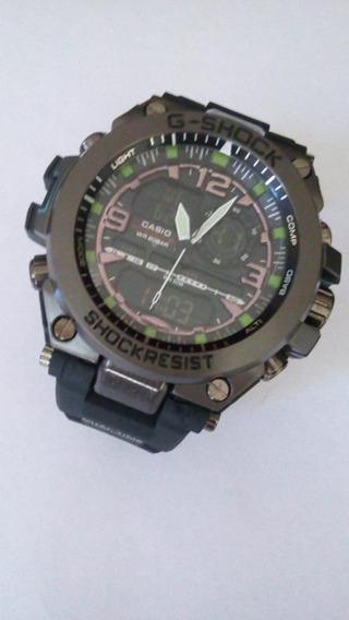 Relógio Gshock Caixa De Aço Preto