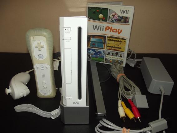 Nintendo Wii Retrocompatível Com Gamecube Completo + Jogo