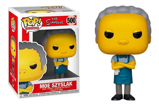 Funko Pop Moe Szyslak Simpsons 500 Muñeco Original