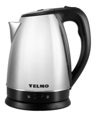 Imagen 1 de 1 de Pava eléctrica Yelmo PE-3906 Desayuno color acero inoxidable 220V 1.7L