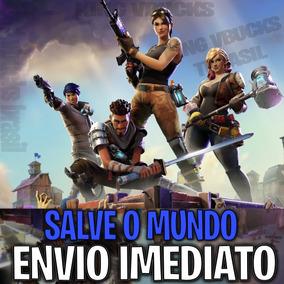 Salve O Mundo Fortnite Pc Xbox Ps4 Vbucks V-bucks