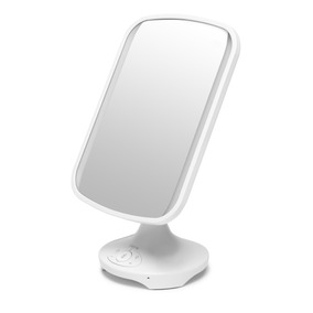 Ihome Icvbt3w Espejo Ajustable Con Audio Bluetooth,luz Led