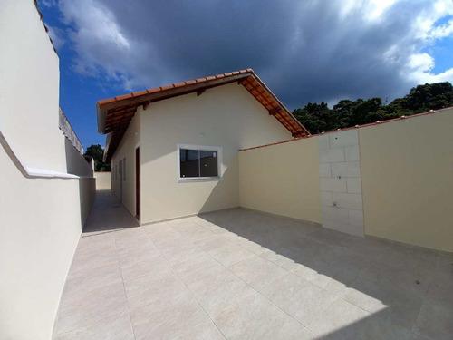 Casa Com 2 Dorms, Nossa Senhora Do Sion, Itanhaém - R$ 195 Mil, Cod: 3017 - V3017