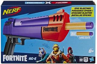 Pistola Nerf Fortnite Hc-e Lanzador Hasbro E7515 Cuotas
