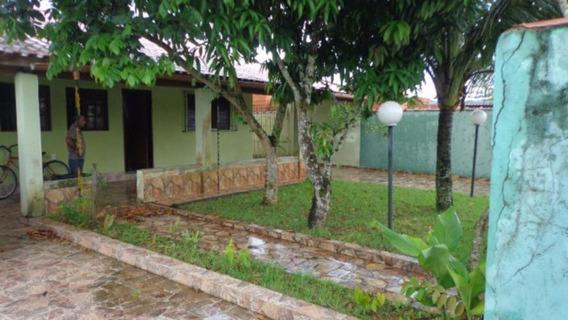 Casa Com Jardim E Piscina Em Itanhaém Litoral - 2598 Npc