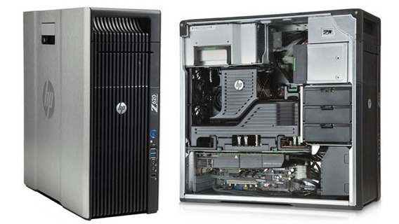 Workstation Hp Z820 Dual Xeon E5-2640v2 128gbram Nvidiak4200