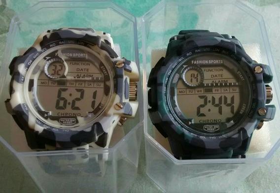 Relógio Militar Exercito Kit Com 2