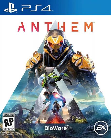Anthem - Ps4 Midia Física Lacrado Frete Grátis