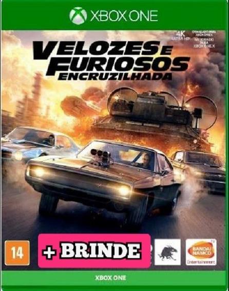 Velozes E Furiosos Encruzilhada Xbox One + Brinde